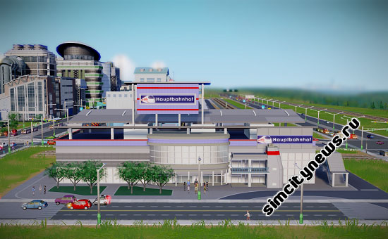 Железная дорога SimCity