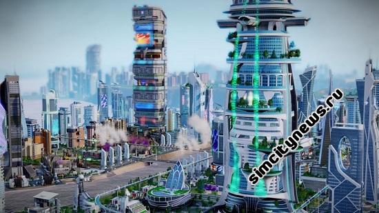 Аркология города будущего