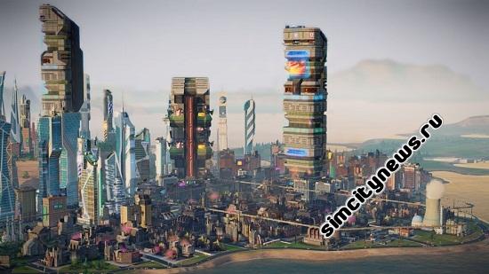 Города будущего новые здания