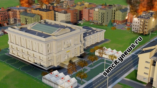Красный Крест SimCity