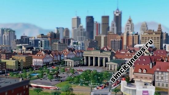 Большие карты SimCity