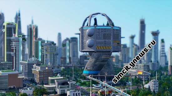 SimCity Launch Arcology