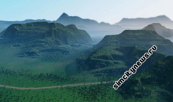 Тропический регион SimCity