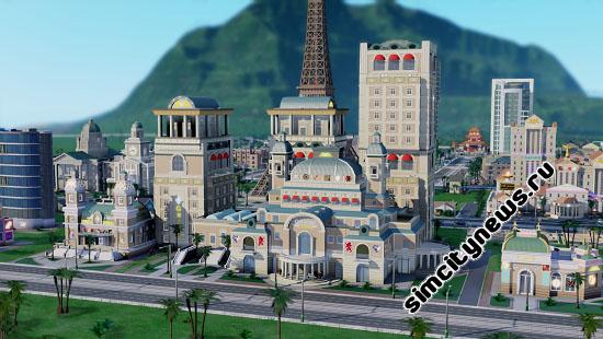 Элегантное казино SimCity