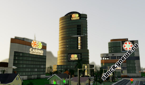 Игорная индустрия SimCity