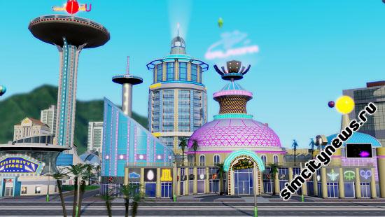 Космическое казино SimCity