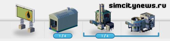 Модули нефтеперегонного завода