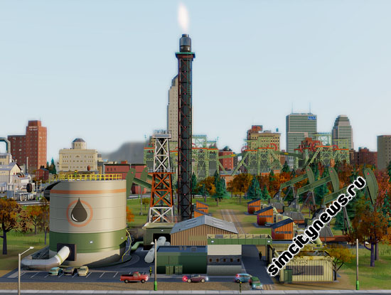 Нефтяная скважина Simcity