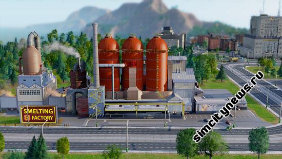 Плавильный завод SimCity