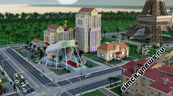 Римское казино SimCity