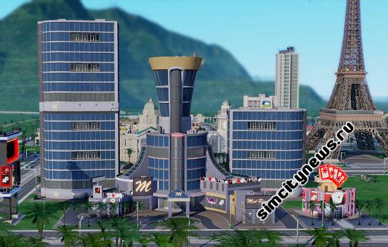 Шикарное казино Simcity