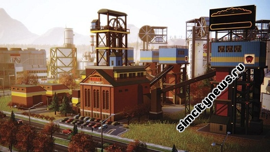 Simcity Coal Mine