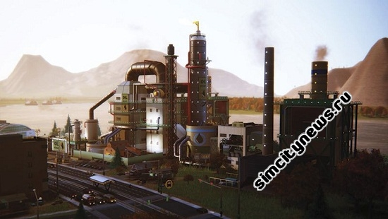 Simcity Oil Refinery