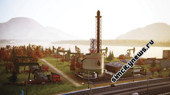 Simcity Oil Well