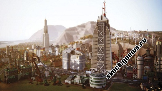 Simcity Petroleum HQ