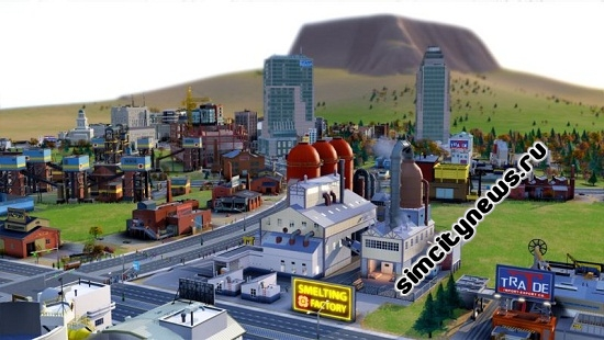 Simcity Smelting Factory