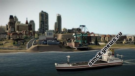 Simcity торговый порт
