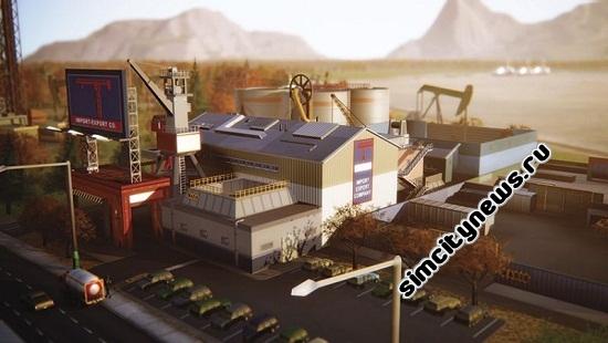 Simcity товарный склад