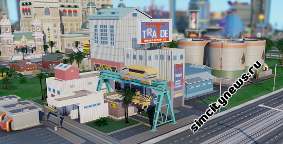 Торговый порт SimCity