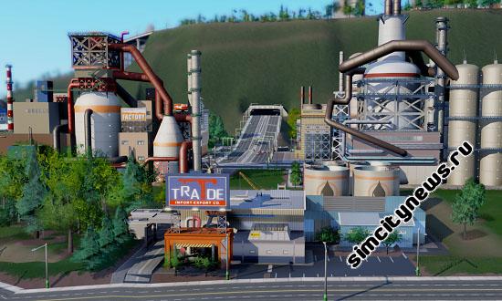 Товарный склад SimCity