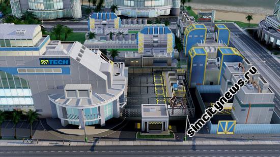 Завод бытовой электроники Simcity
