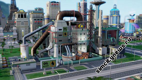 Завод по перекачке нефти