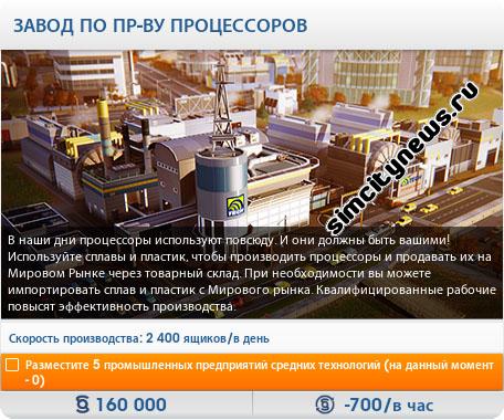 Завод производства процессоров