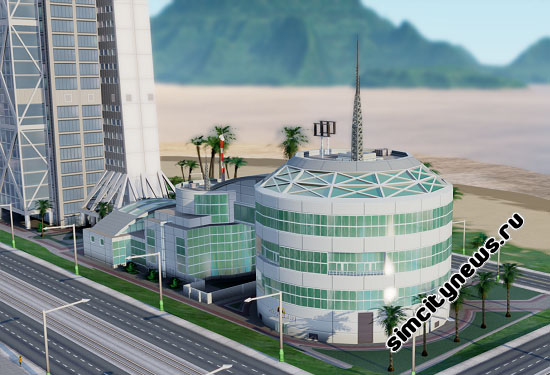 Здание нефтеперегонного учреждения