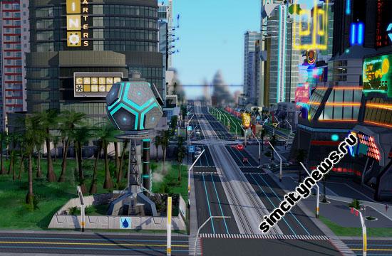 Гидронасосная станция Simcity