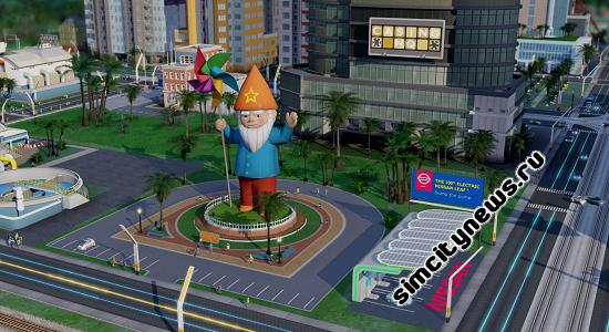 Гном Simcity