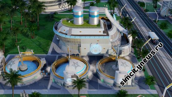 Станция санитарной обработки Simcity