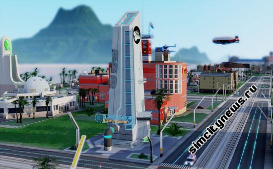 Загрязнение почвы SimCity