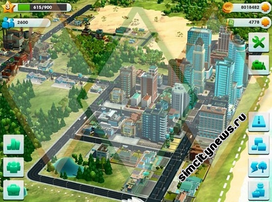 Simcity для Android
