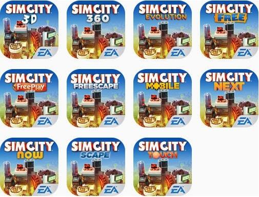 Simcity для смартфонов и планшетов