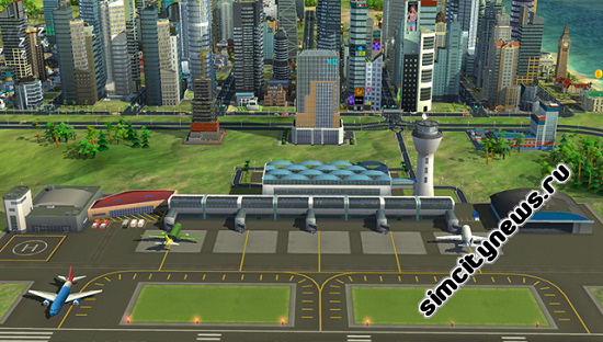Аэропорт SimCity BuildIt