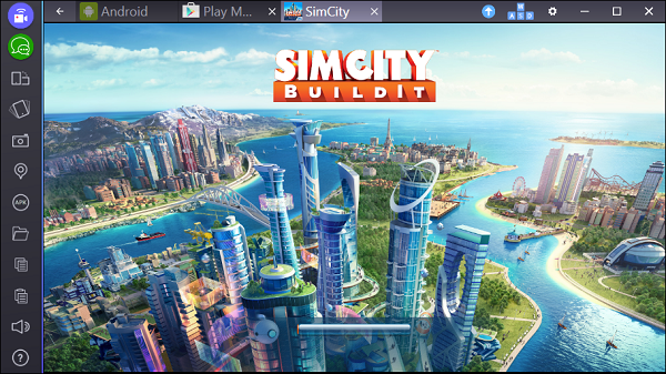 SimCity BuildIt на компьютер