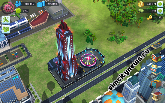 Новая башня Ву