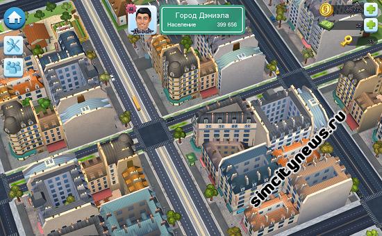Город Париж в Simcity