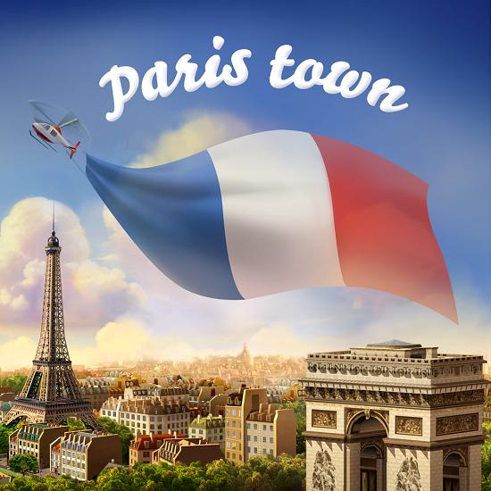Paris Town Simcity