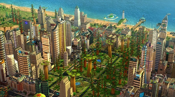 Лес SimCity BuildIt
