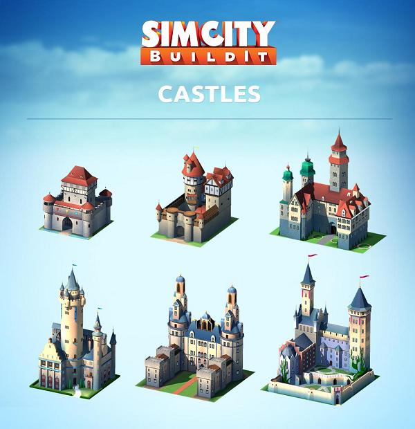 Castles SimCity BuildIt