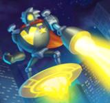 Летающий робот Ву