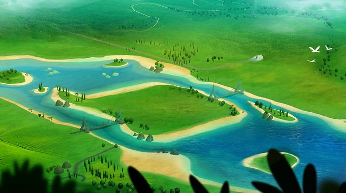 Зеленая долина
