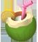 Напиток из тропиков