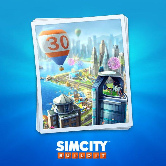 Игре SimCity 30 лет