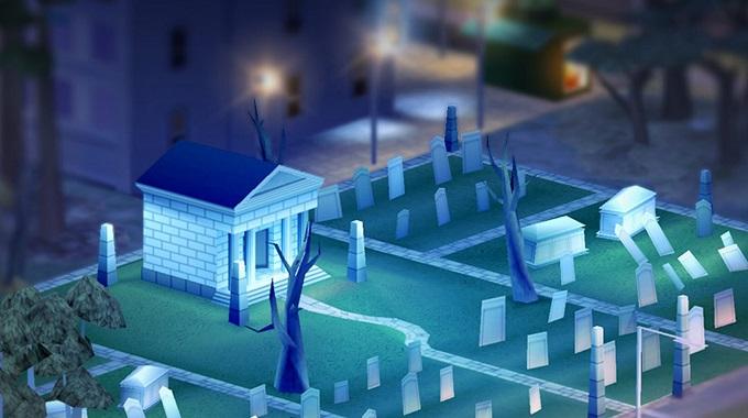 Simcity halloween